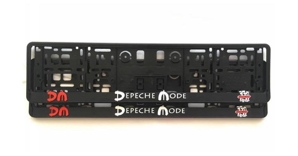 depeche mode kfz zulassungsschild halter spirit depeche mode universe. Black Bedroom Furniture Sets. Home Design Ideas