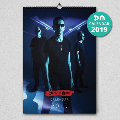 Depeche Mode - Calendario de pared 2019