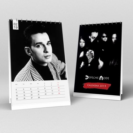 Depeche Mode - Calendario 2019 (A5)