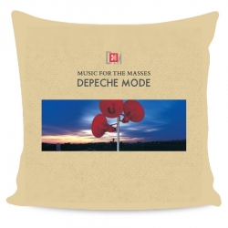 Depeche Mode - Almohada Recubrimiento - Music For The Masses