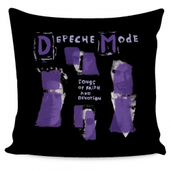 Depeche Mode - Almohada Recubrimiento - Songs Of Faith And Devotion