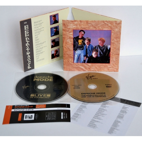 Depeche Mode - Live in Hamburg 1985 - CD+DVD