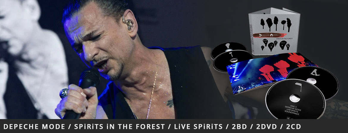 Depeche Mode / SPiRiTS iN THE FOREST / LiVE SPiRiTS - 2BD / 2DVD / 2CD